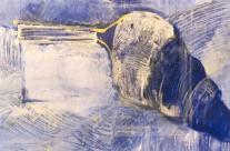 Musique  1997   – 78×113 cm –  ( collection privée )