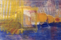 Son de la mer  1998   – 78×113 cm –  ( collection privée )
