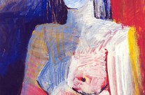Femme à la fenêtre  1997  – 97×69 cm -