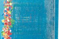 Jardin turquoise 3  – 2000 –  100×80 cm