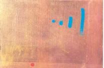 Paysage espagnol I 2000  – 40×40 cm -