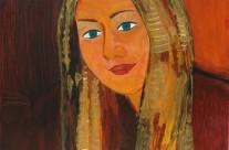 Samantha King  2004  – 80×80 cm -