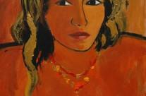Femme au collier  2006  -120×80 cm -