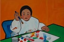 Dylan Luna  2008  – 80×120 cm –
