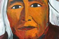 Indien Hopi, chef du clan du Soleil  2007  – 120×80 -