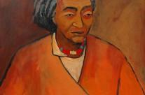 Yogi tibétain  2005  – 100×100 cm -