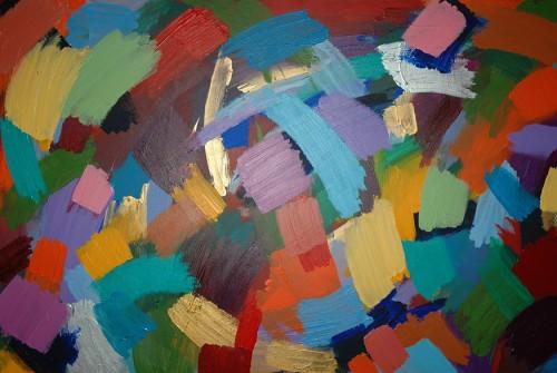 Arc-en-ciel  2010  -100×160 cm -