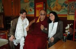 Sa Sainteté le Dalai Lama, Carlo et moi